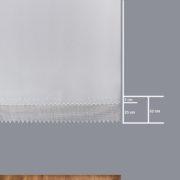 Firana 9156 /180/ wymiary wzoru
