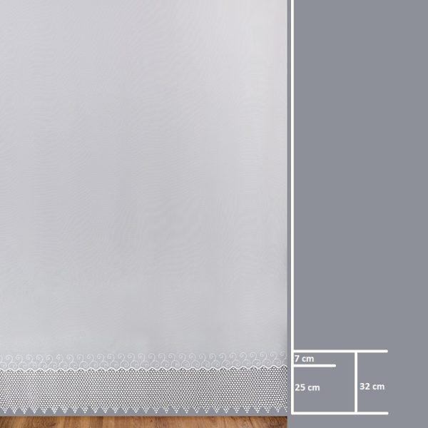 Firana 9156 /280/ wymiary wzoru