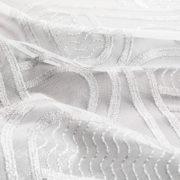 Panel firanowy 30827 /wjite silver – wzór