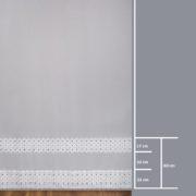 Firana 96782 /280- wymiary wzoru