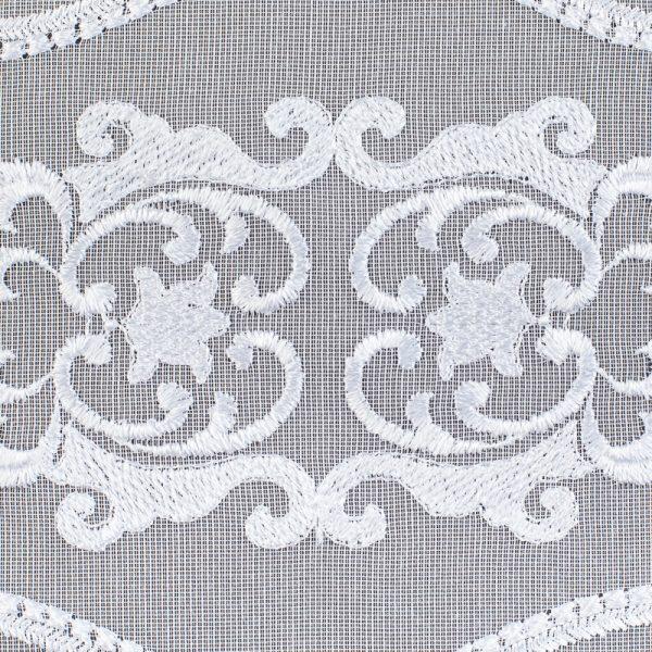 Firana 41180 /wzór haftu