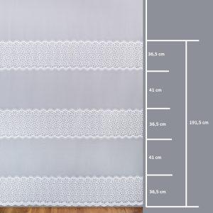 Firana 13310-3L /280- wymiary wzoru