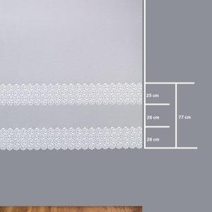 Firana BR 12079-2L /180- wymiary wzoru