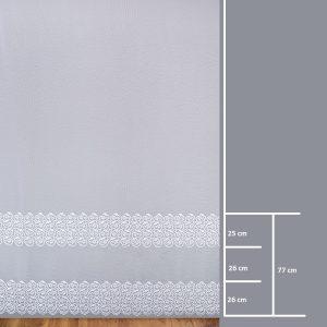 Firana BR 12079-2L /280- wymiary wzoru