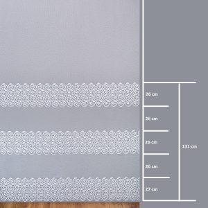 Firana BR 12079-3L /280- wymiary wzoru