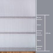 Firana 9102-3L /280/ wymiary wzoru