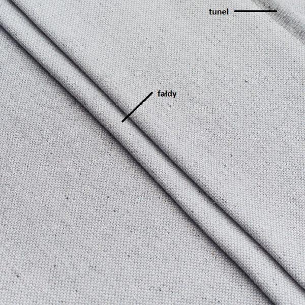 Tkanina 3395 /fałdy po podpięciu