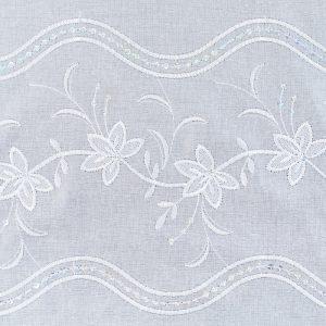 Firana 33824 /wzór haftu
