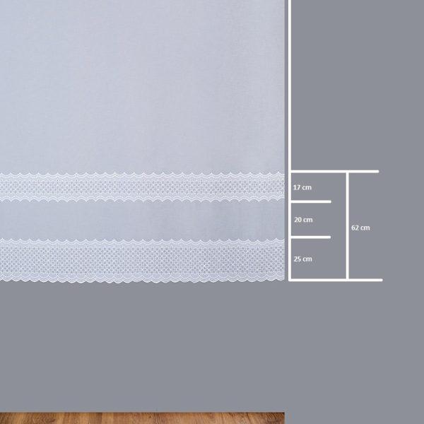 Firana 8636 /180/ wymiary wzoru