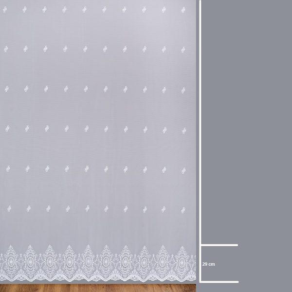 Firana B 14804 /280/ wymiary wzoru
