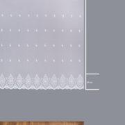 Firana B 14920 /180/ wymiary wzoru
