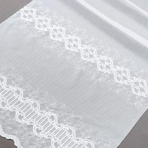 Firana 98587 /280/ haft biały