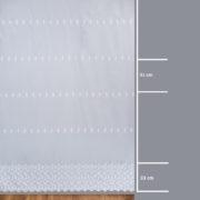 Firana 13646-00 /280/ wymiary wzoru