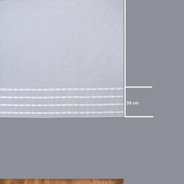 Firana 17721 /160/ wymiary wzoru