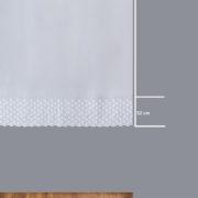 Firana 13655 /180/ wymiary wzoru