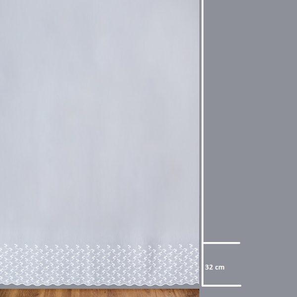 Firana 13657 /280/ wymiary wzoru
