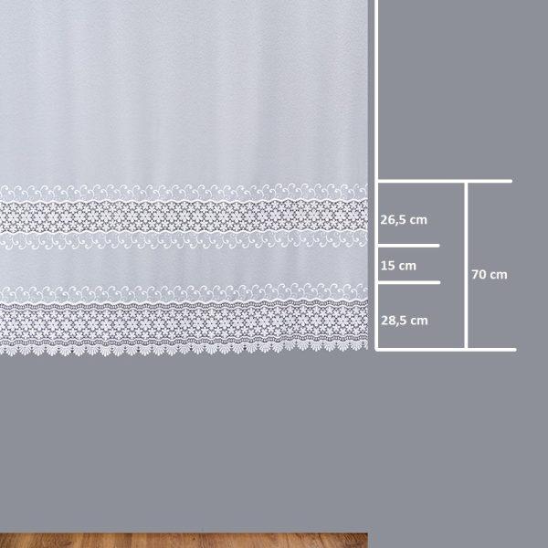 Firana 81135 /180/ wymiary wzoru