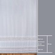 Firana 81135 /280/ wymiary wzoru