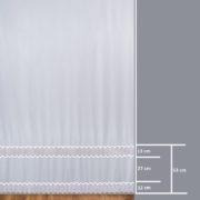 Firana 9354 /280/ wymiary wzoru