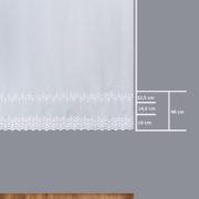 Firana 98673 /180/ wymiary wzoru