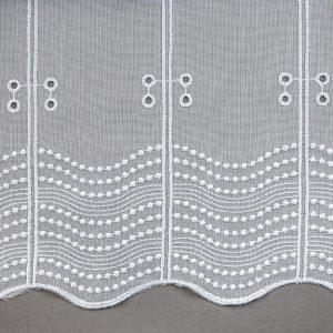 Firana panel 16643-01 /wzór dołu