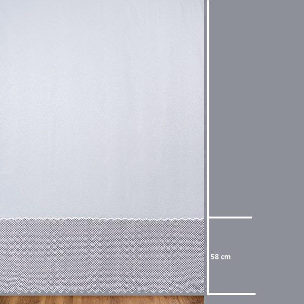 Firana 81226 /280/ wymiary wzoru