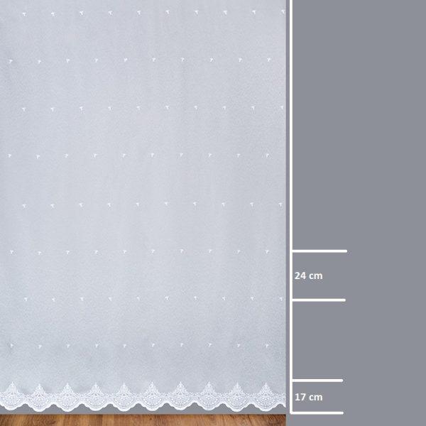 Firana 24951-00 /280/ wymiary wzoru
