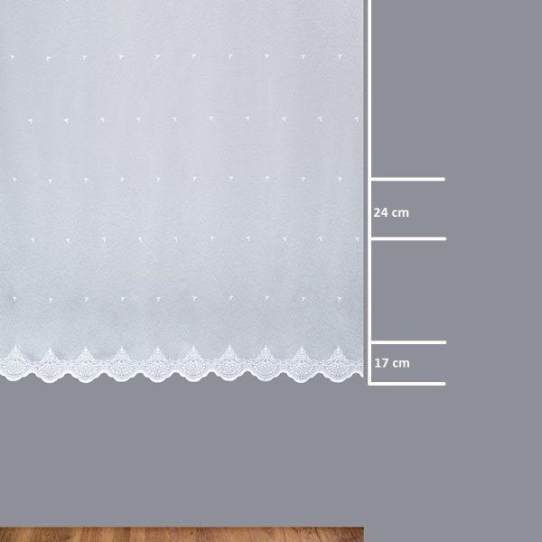 Firana 24952-01 /180/ wymiary wzoru