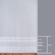 Firana 80998 /280/ wymiary wzoru