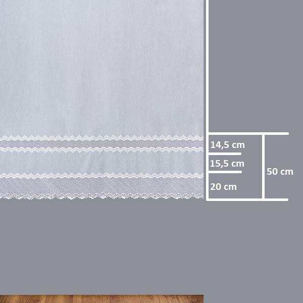 Firana 81557 /180/ wymiary wzoru