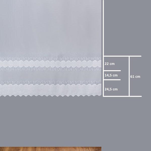 Firana 95273 /180/ wymiary wzoru