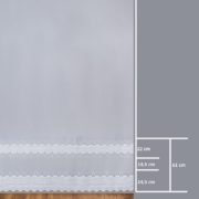Firana 95273 /280/ wymiary wzoru