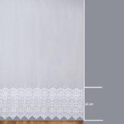 Firana 242459 /280/ wymiary wzoru