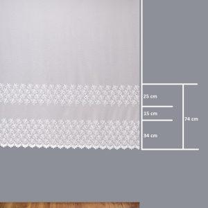 Firana 41505-2L /180/ wymiary wzoru