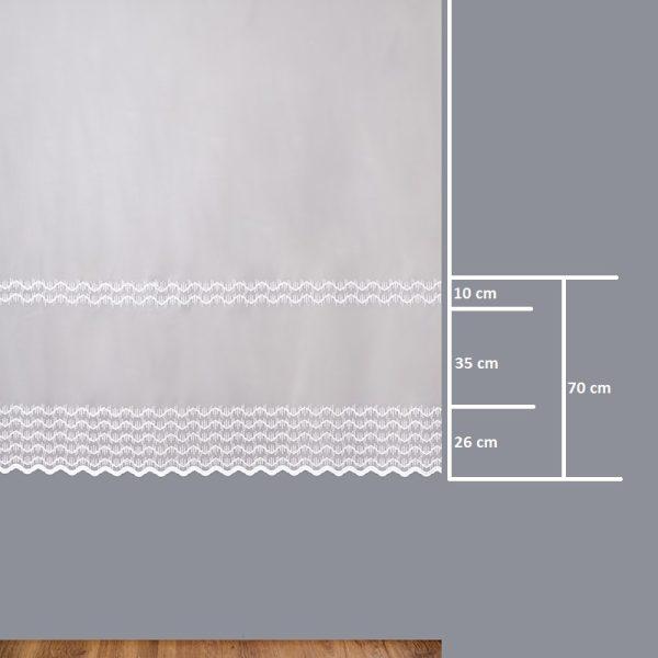 Firana 41822-2L /180/ wymiary wzoru