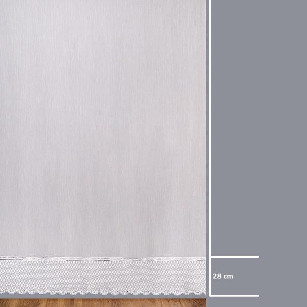 Firana 42458 /280/ wymiary wzoru